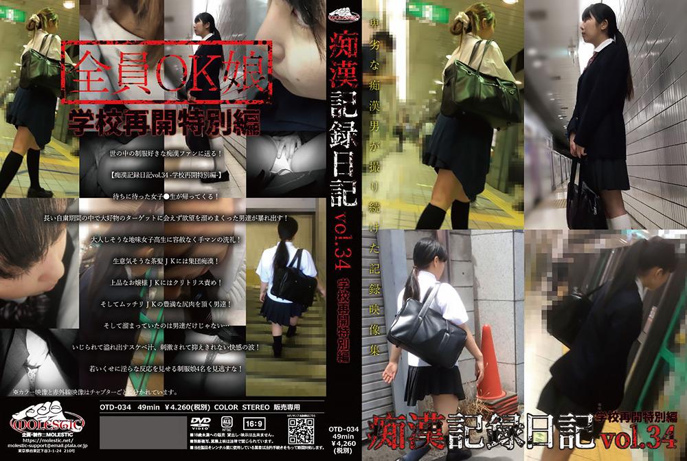 痴漢記録日記vol.34 -学校再開特別編-